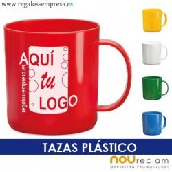 Taza plástico