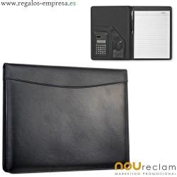 Portafolios con calculadora tamaño A4 para publicidad de empresas