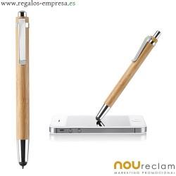 Boligrafos bambu