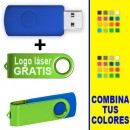 MEMORIAS USB COLORES