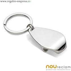 Llaveros metálicos para regalos en eventos y empresas