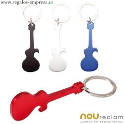 Llaveros forma guitarra