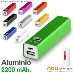 Baterías externas personalizadas
