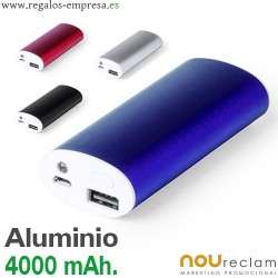 POWER BANK 4.000 mAh PERSONALIZADO
