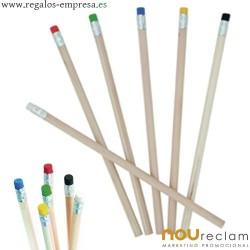 Lápices con goma personalizados