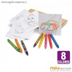 Colores escolares personalizados