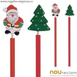 Lápices navidad