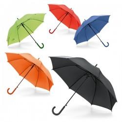 Paraguas personalizados para publicidad con mango de colores