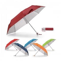 Paraguas plegables personalizados con logo de empresa para promociones publicitarias