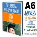 LIBRETAS PERSONALIZADAS ECONOMICAS A6