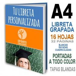 LIBRETAS PERSONALIZADAS ECONOMICAS A4