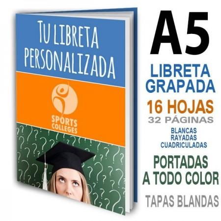 LIBRETAS PERSONALIZADAS ECONOMICAS A5