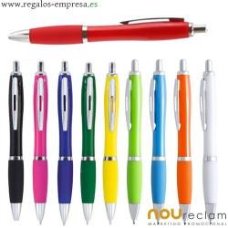 Bolígrafos originales de colores