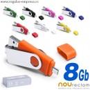 USB 8 GB COLORES
