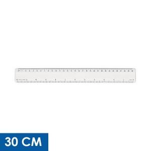 Reglas transparentes personalizadas de 30 cm