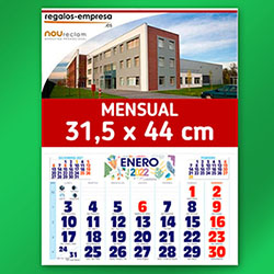 CALENDARIO PARED PERSONALIZADO