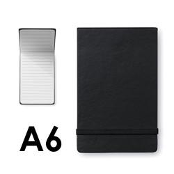 Libretas personalizadas A6 negras
