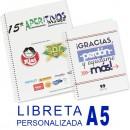 LIBRETA PERSONALIZADA ESPIRAL A5