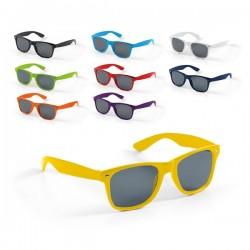 Gafas de sol de colores publicitarias