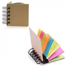 Libretas con notas adhesivas varios tamaños