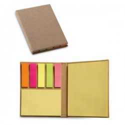 PEQUENO SET DE NOTAS ADHESIVAS POST IT DE COLORES