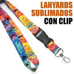 LANYARDS SUBLIMACION CON CLIP