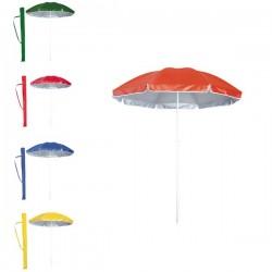 Sombrillas de playa de colores
