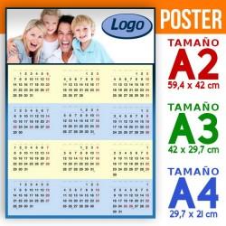 Calendarios poster