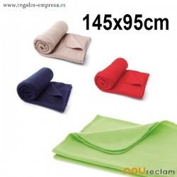Mantas de colores personalizadas baratas