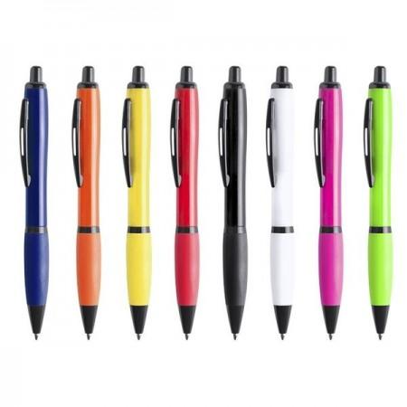 Bolígrafos de plástico metalizado...