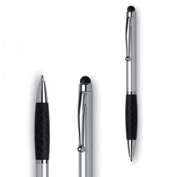 Bolígrafos giratorios acabado metálico
