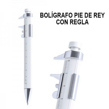 BOLIGRAFOS CON PIE DE REY