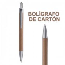 BOLIGRAFOS PLASTICO Y CARTON