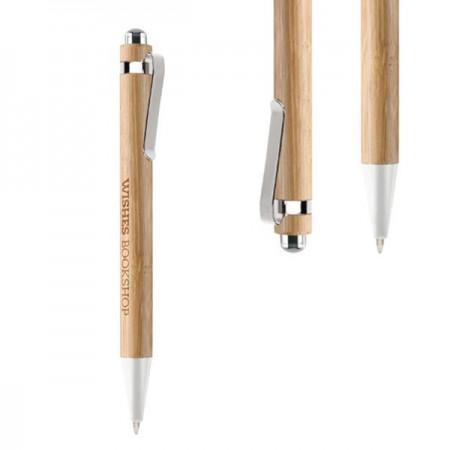 Bolígrafos personalizados bambu