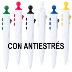 Bolígrafos antiestrés personalizados
