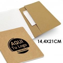 Libreta publicitaria papel reciclado