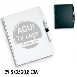 Libretas publicitarias A4 para regalos de clientes