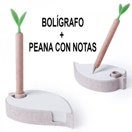 Bolígrafo porta notas
