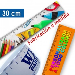 Reglas flexibles personalizadas a todo color