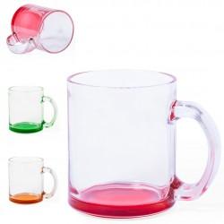 Tazas  cristal personalizadas