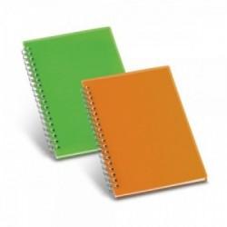 Libretas personalizadas medianas con tapas de plástico