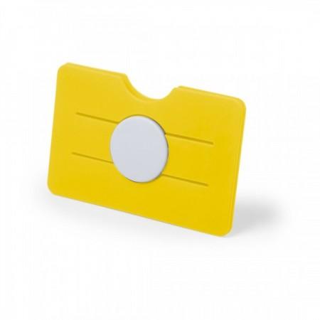 Tarjetero adhesivo para móvil