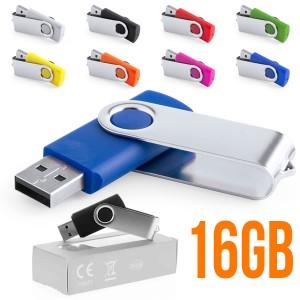 Memoria USB con logo personalizado Rebik 16GB