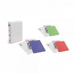 Juego de baraja de 54 cartas francesas con estuche personalizado