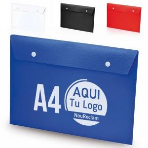 Sobres portadocumentos baratos A4 personalizados