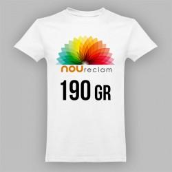 Camisetas unisex blancas con logo personalizado ANKARA