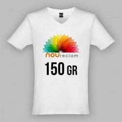 Camisetas blancas publicitarias para personalizar ATHENS