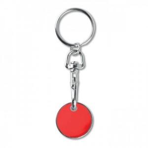 Llavero moneda carro en colores para personalizar
