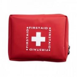 Bolsa kit primeros auxilios muy comleta, personalización opcional
