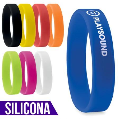 Pulseras publicitarias de silicona personalizadas con tu logo